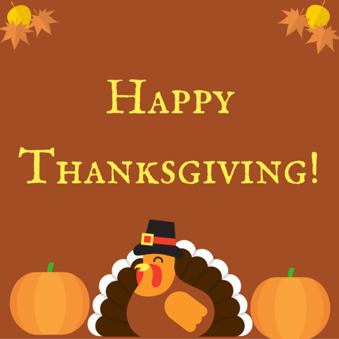 Thanksgiving message for the Career Services Center.