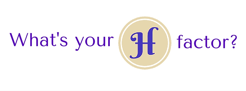A social media banner created to promote The H Factor Media.