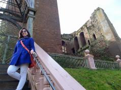 Just modeling at Kenilworth Castle