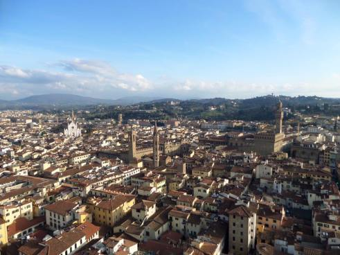 Yes, Florence really is this beautiful- the view from the Belltower in Florence, Italy